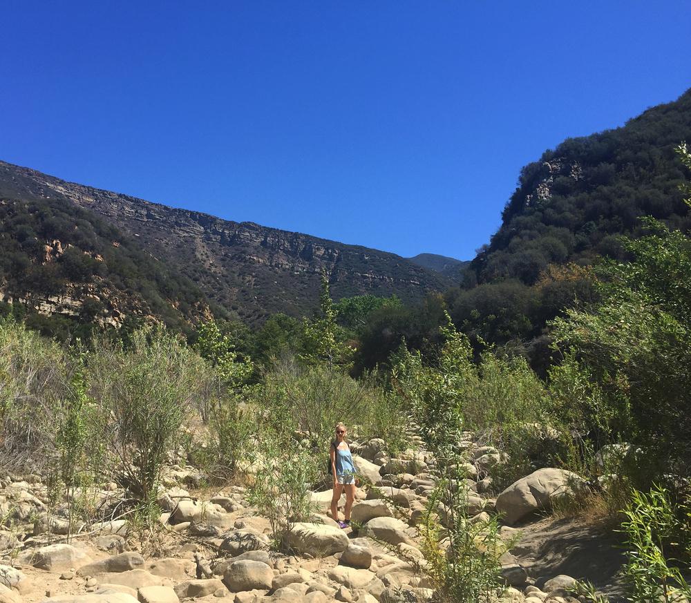 Hiking Matilija Canyon in Ojai, CA