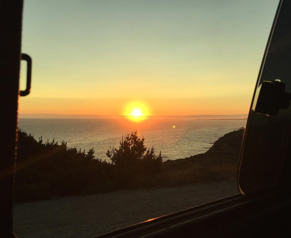 Van Life in Santa Cruz, CA