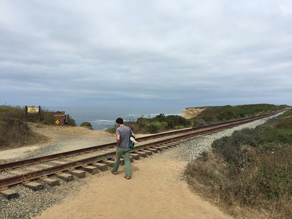Panther Beach in Santa Cruz, CA
