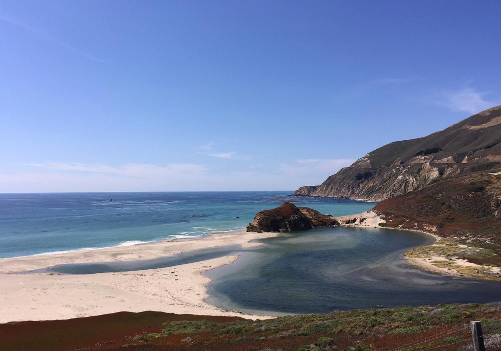 Coastal Views off Highway 1 in Big Sur, CA