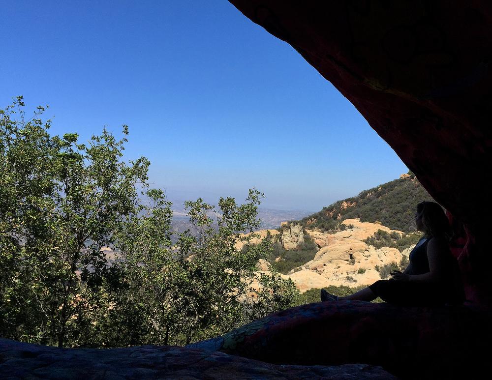 The Jim Morrison Cave in Malibu, CA
