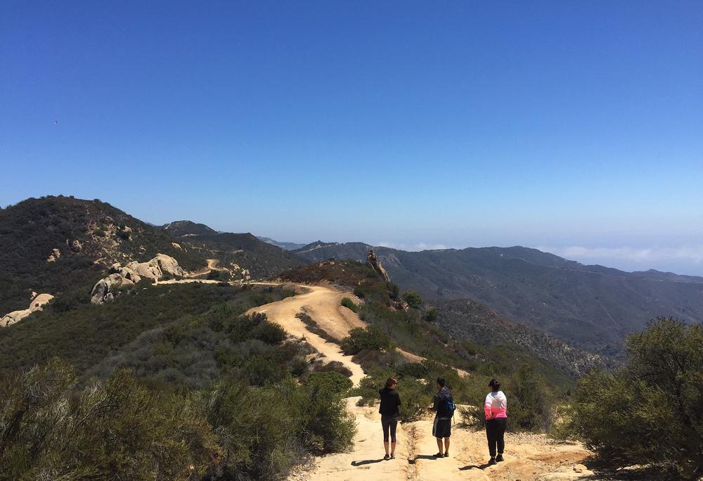 Hiking to the Jim Morrison Cave in Malibu, CA