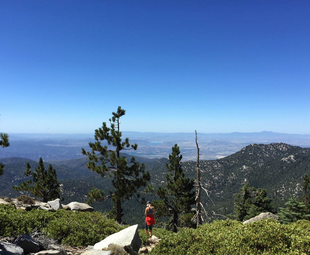 Hiking the PCT in Idyllwild, CA