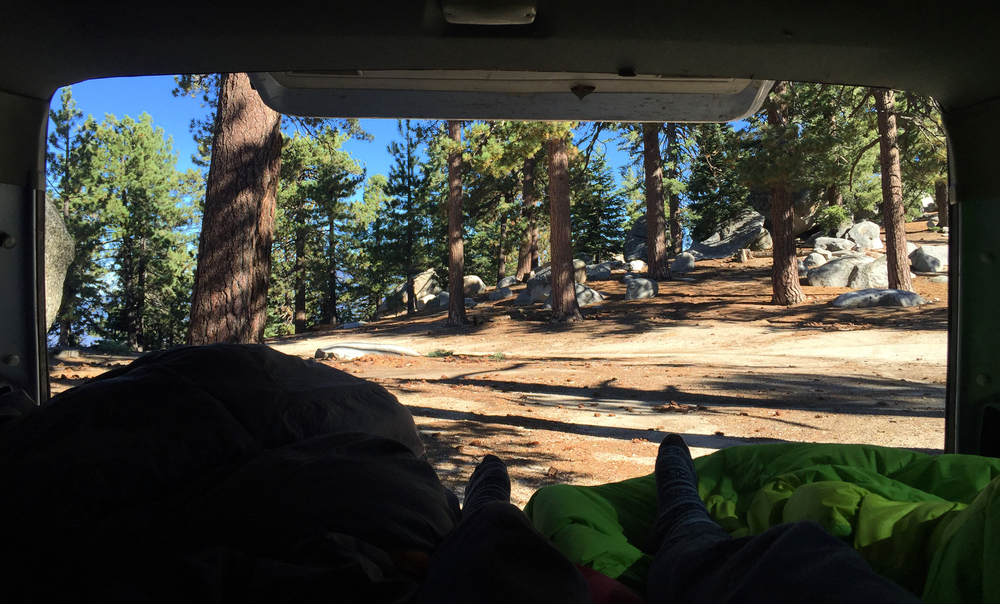 Camping at Black Mountain in Idyllwild, CA