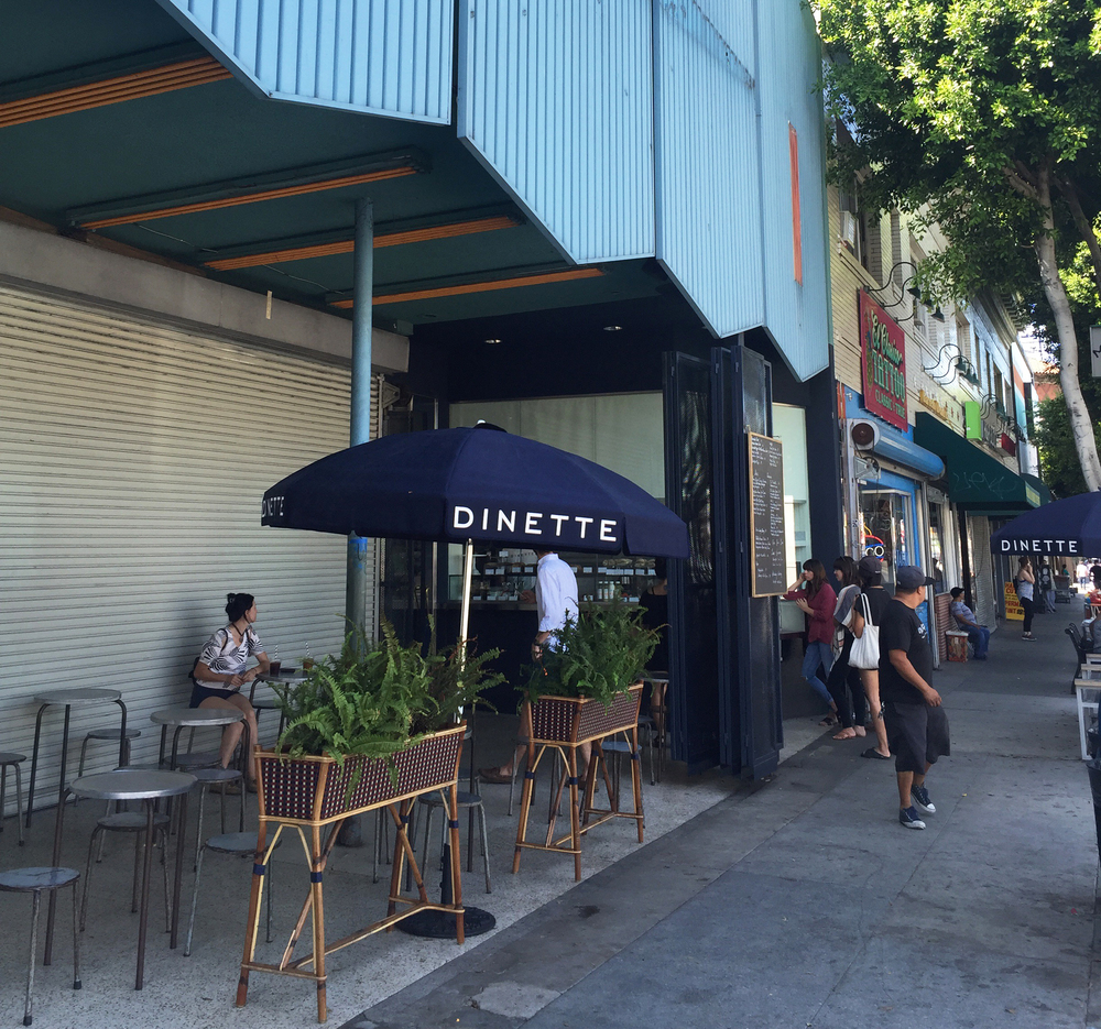 Dinette in Echo Park, Los Angeles