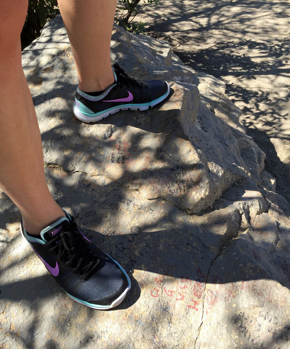 Hiking to the Hollywood Sign, Los Angeles