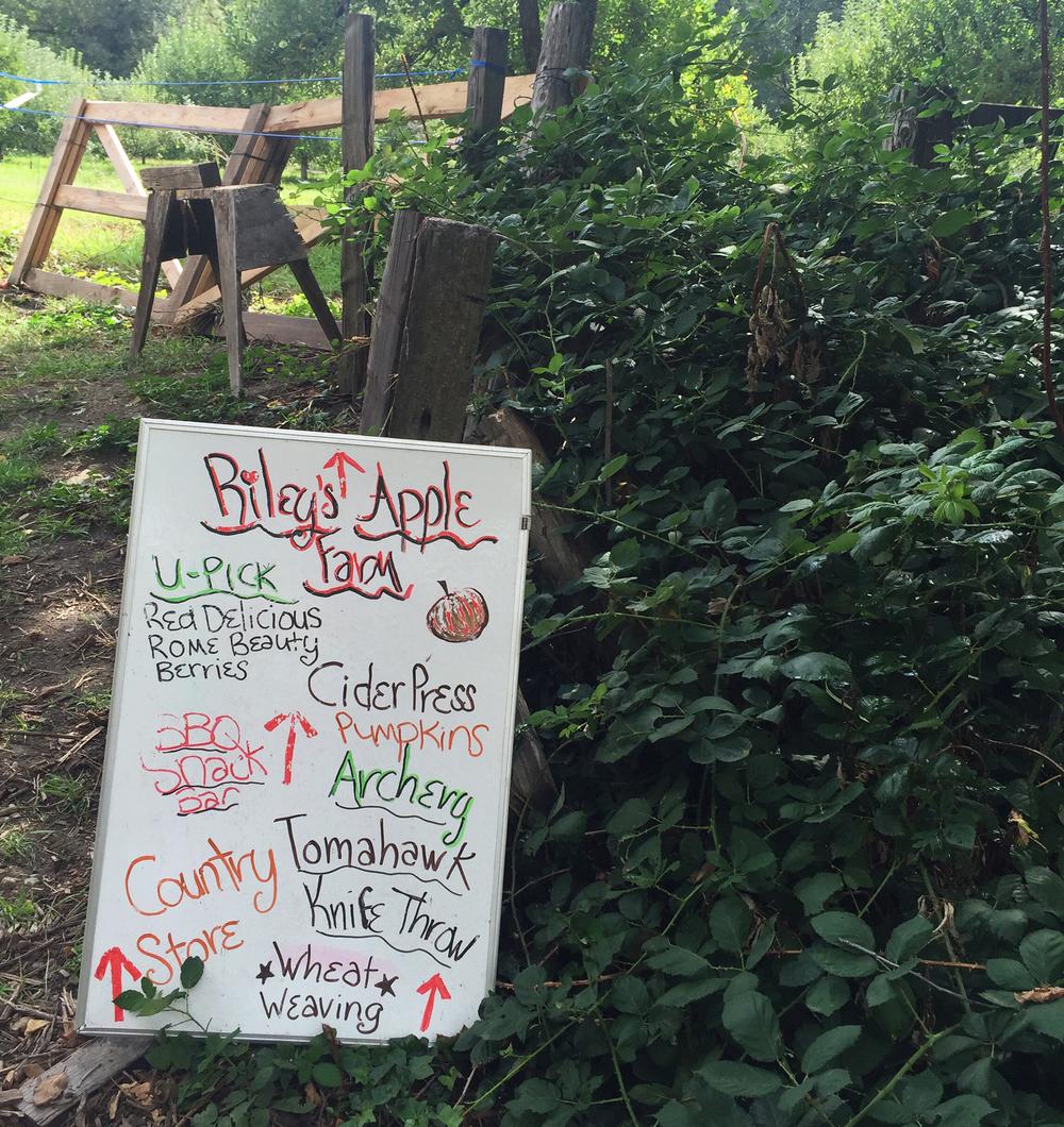 Riley's Apple Farm, Oak Glen