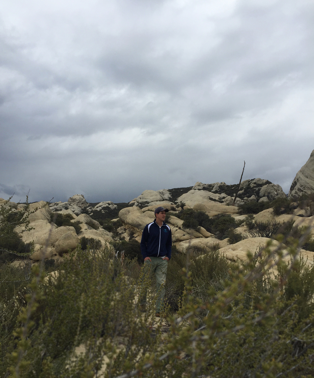 Piedra Blanca in Ojai