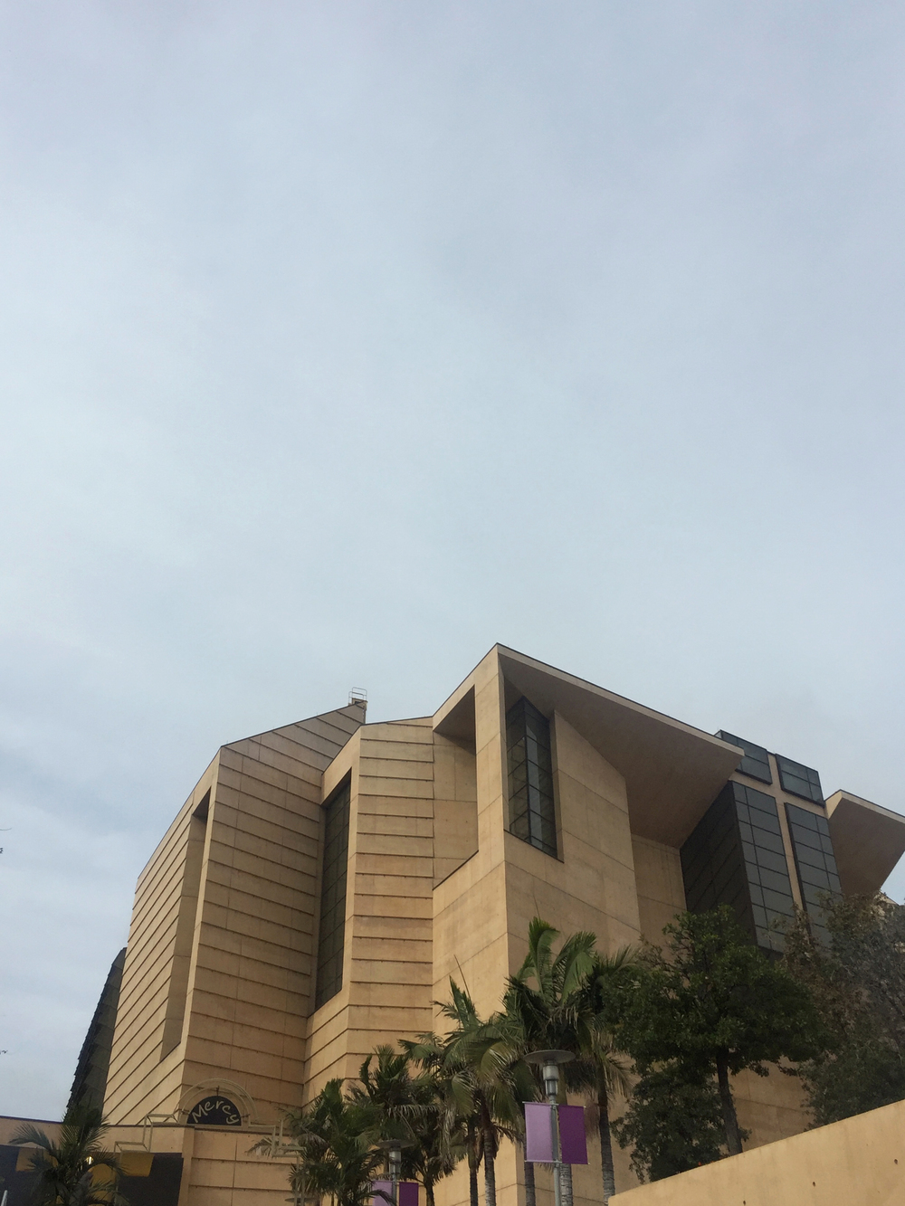 The Cathedral of our Lady of the Angels tour