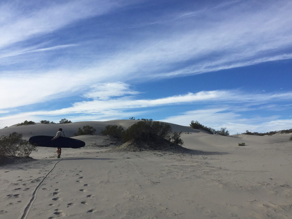 Sand Dunes in Baja Norte, Mexico