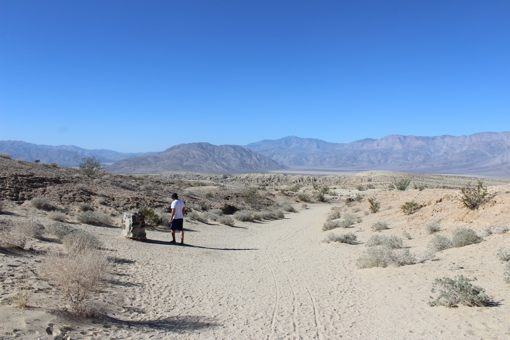 Font's Point in Anza Borrego National Park