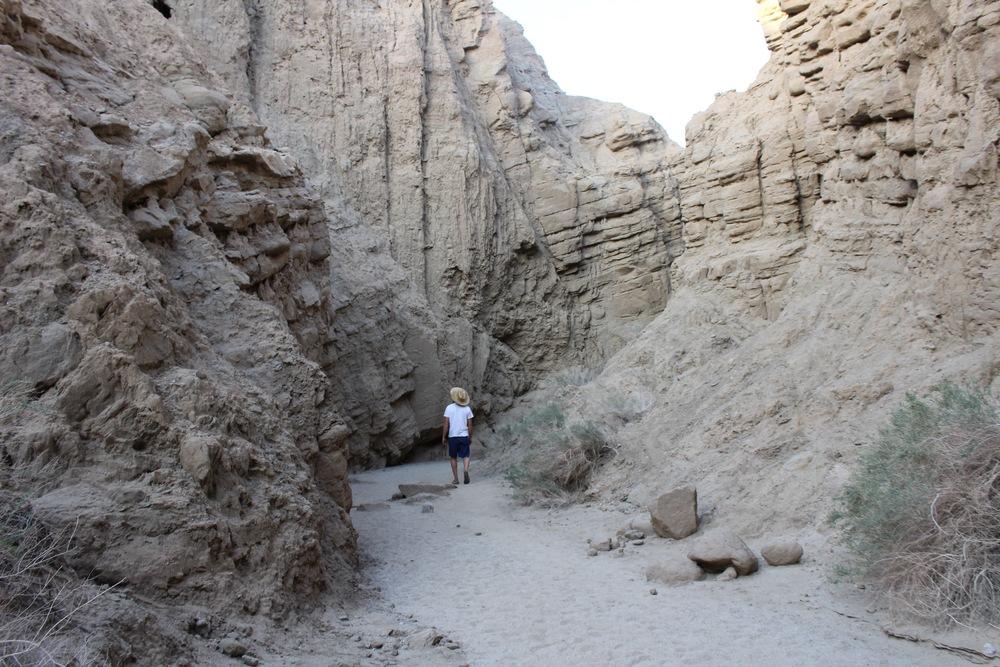 Slot Canyon in Anza Borrego National Park