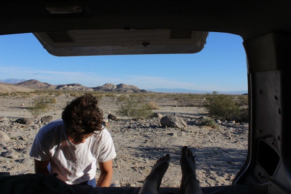 Fish Creek Camp in Anza Borrego National Park