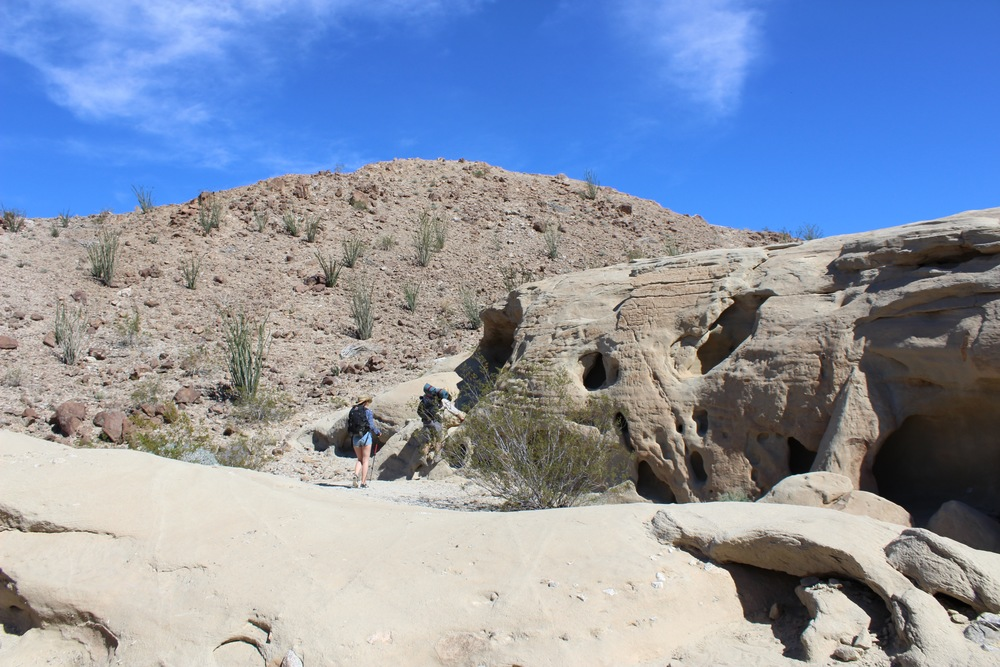 Wind Caves in Anza Borrego National Park