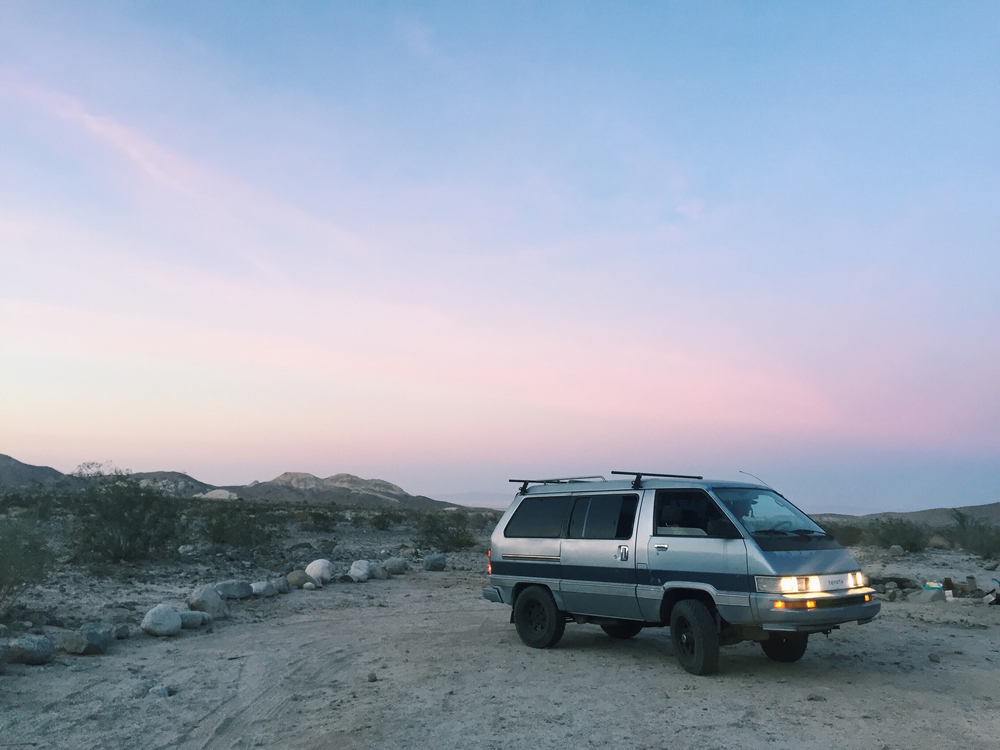 Fish Creek Campground in Anza Borrego National Park