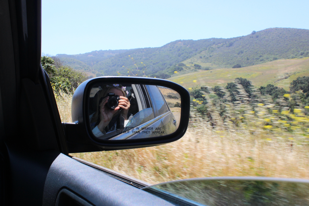 Driving to Jalama Beach County Park