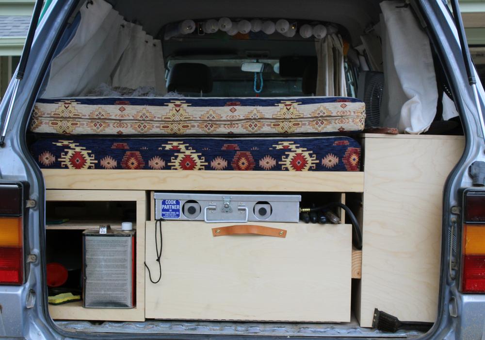 '88 Toyota Van Renovation