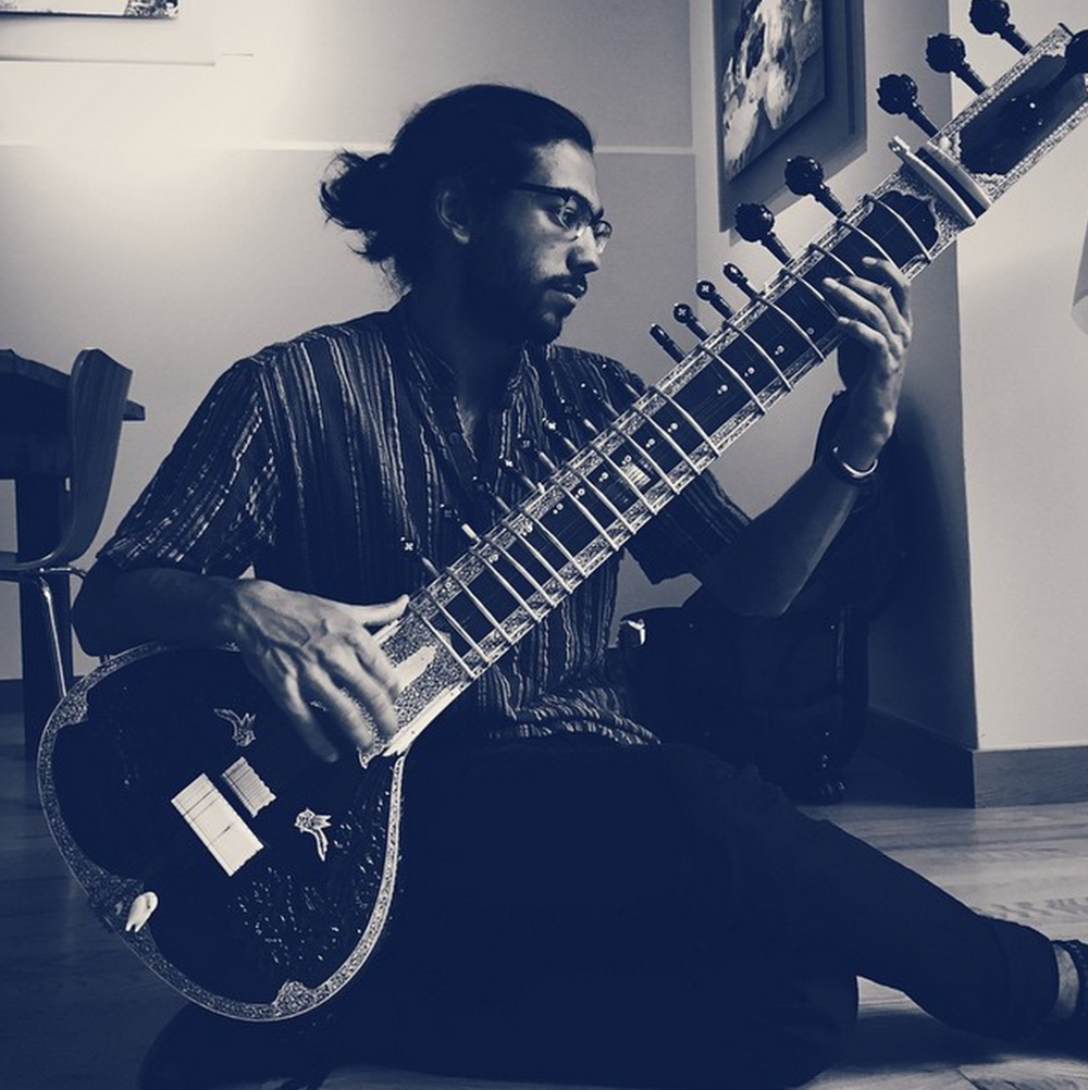 I make frequent and passionate attempts at the Indian Sitar, though I make no claims to be a true player. That would require a lifetime, which I'm saving for next time around.