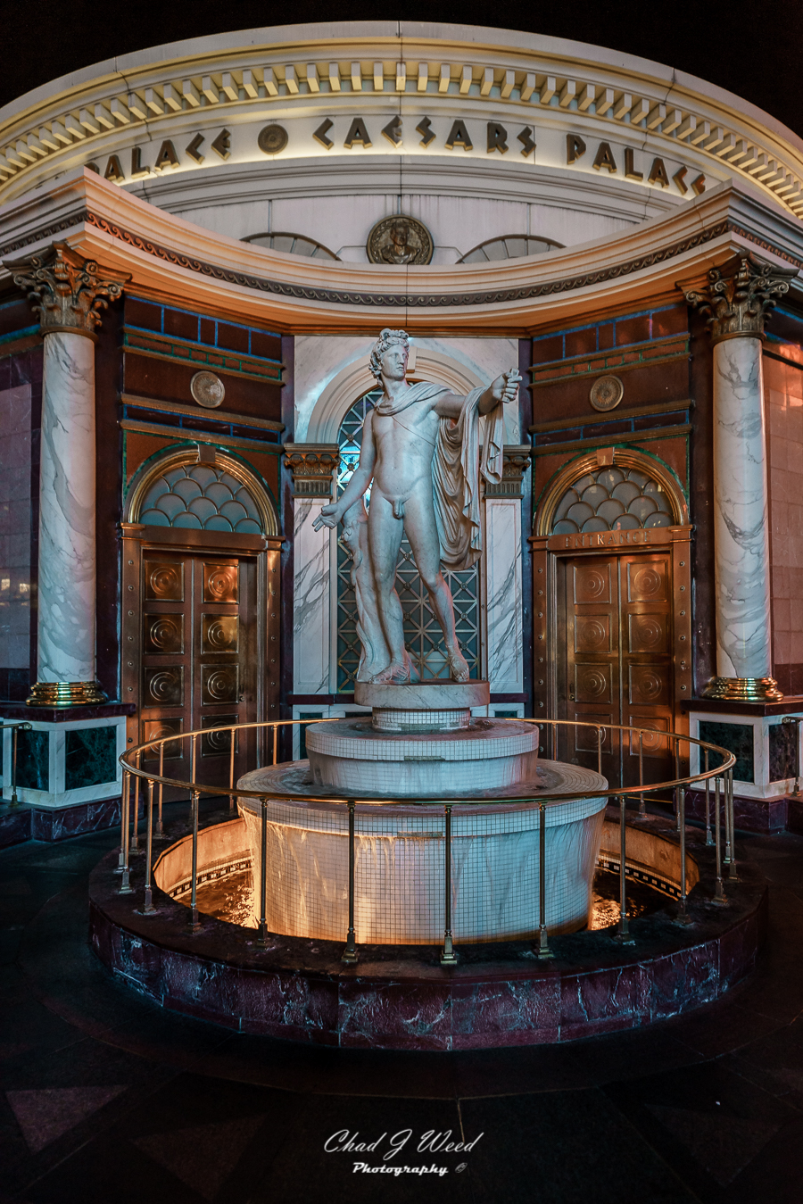 Caesars Palace Statue Las Vegas