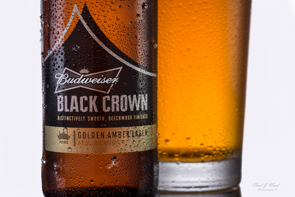 Budweiser Black Crown Beer by Arizona Commercial Photographer Chad J Weed www.chadjweed.com