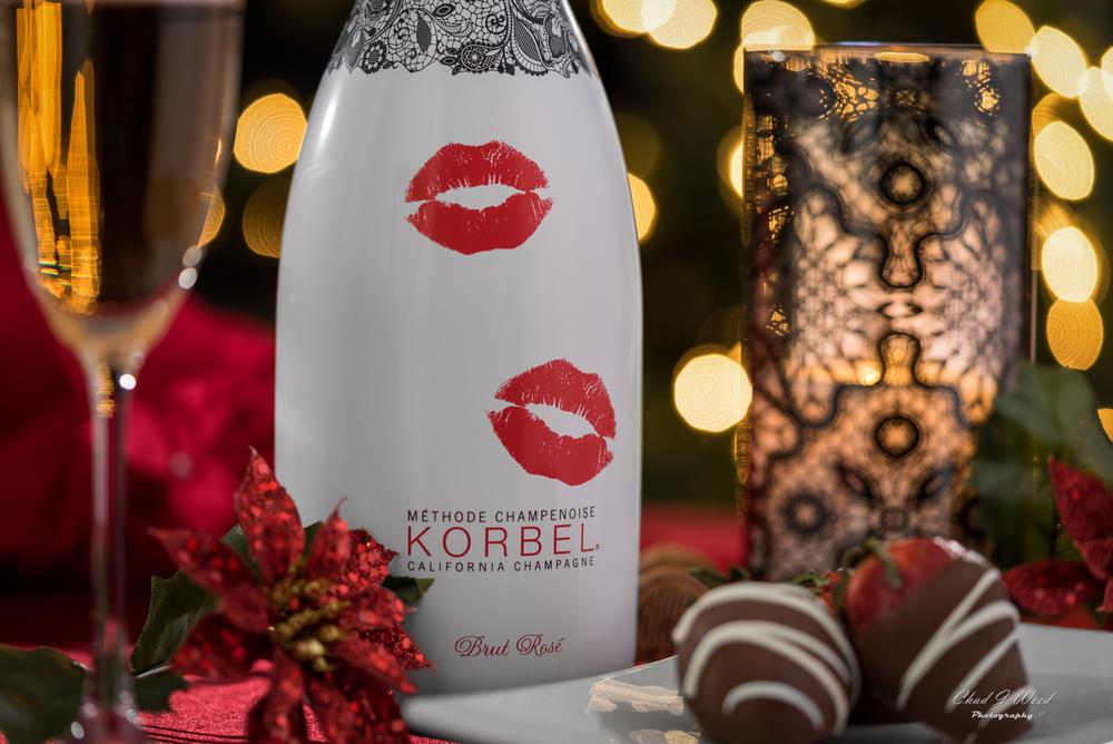 Korbel Champagne Brut Rose Romance Limited Edition