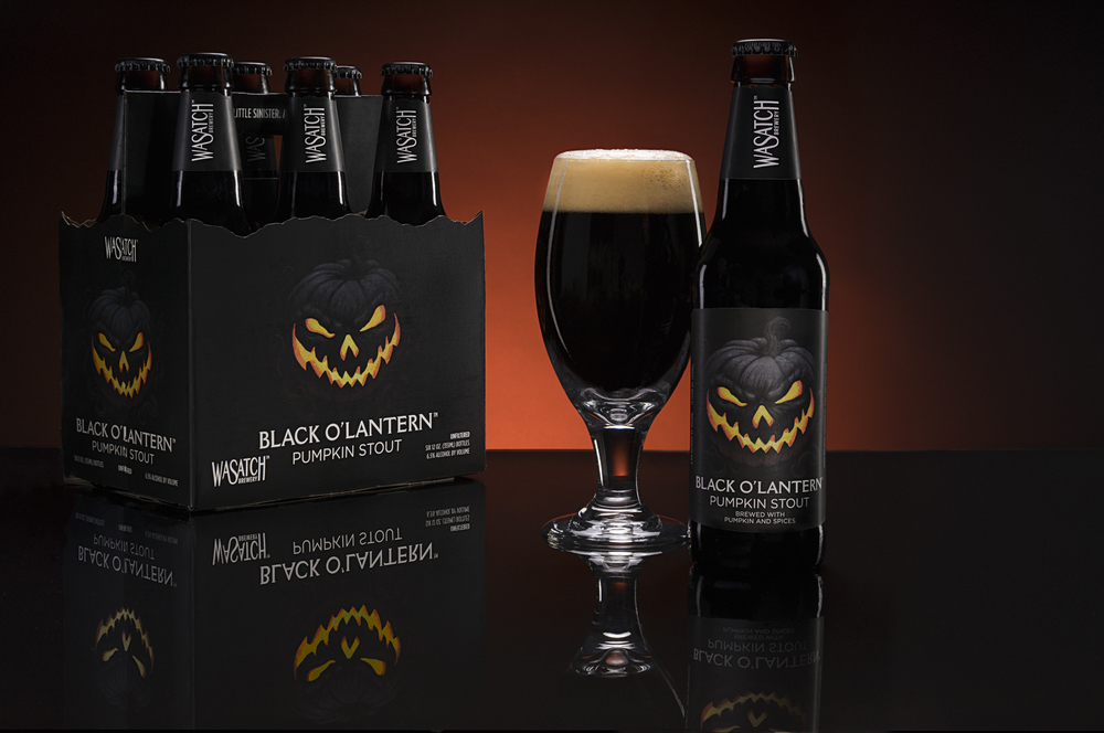 Wasatch Black O'Lantern Beer