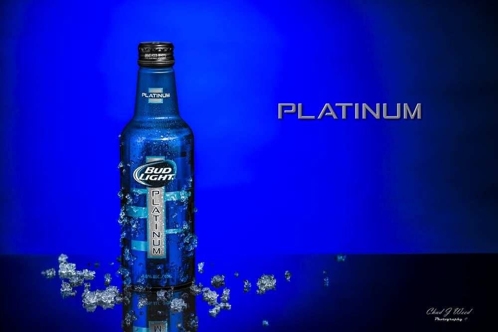 Budweiser Bud Light Platinum By Arizona Commercial Photographer Chad J Weed