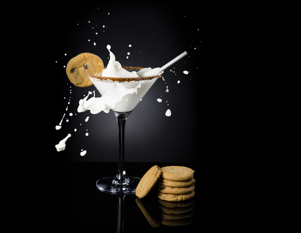 Milk and Cookies Splash