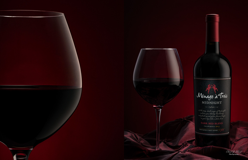 Menage a Trois Midnight by Arizona Commercial Beverage Photographer Chad J Weed