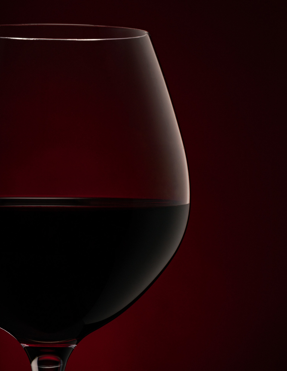 Wine Glass of Minage a Trois Midnight by Arizona Commercial Beverage Photographer Chad J Weed
