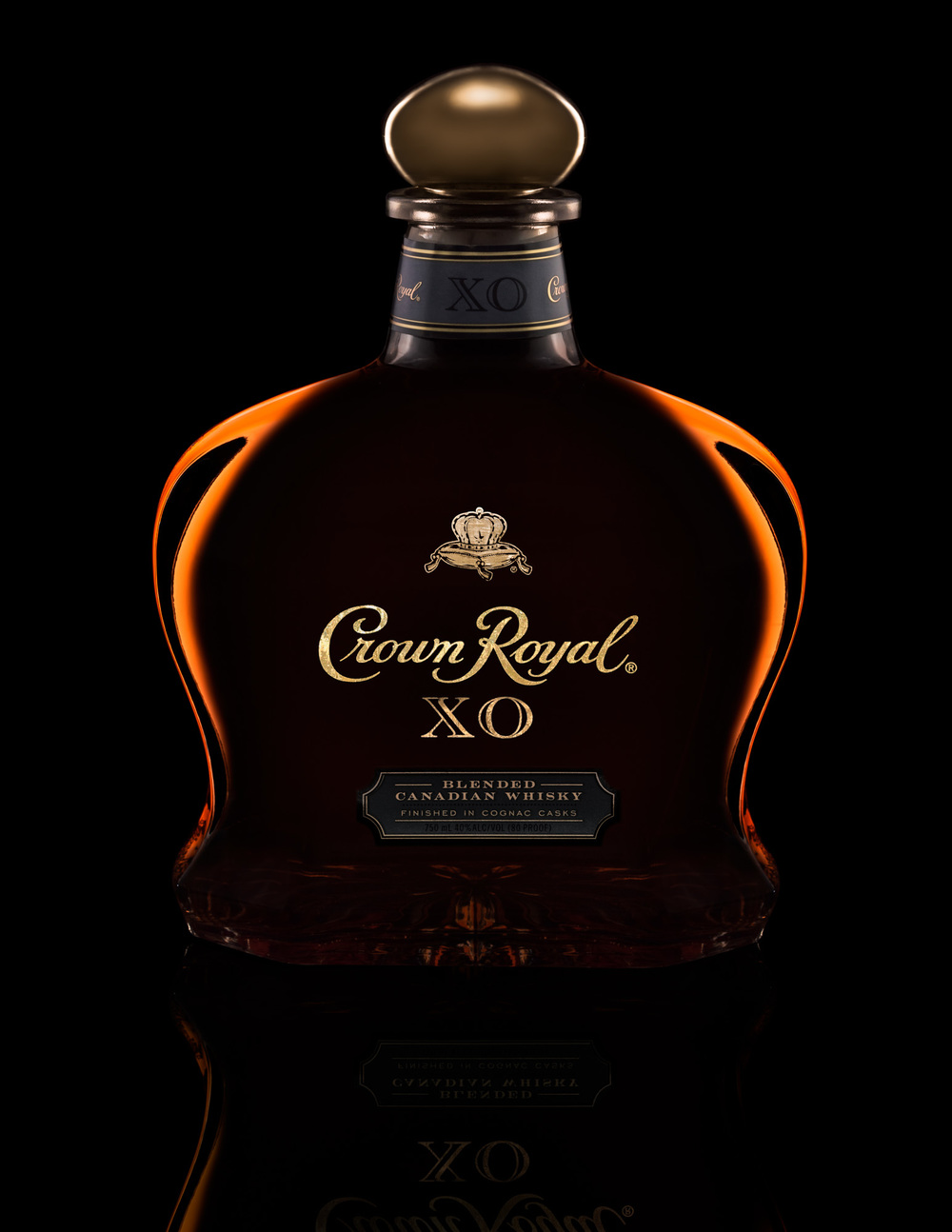 Crown Royal XO Bottle