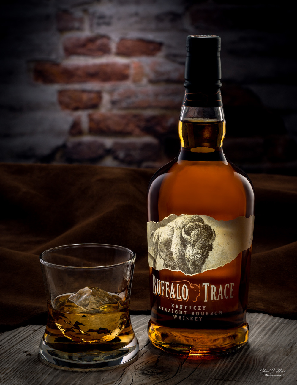 Buffalo Trace Whiskey by Arizona Commercial Beverage Photographer Chad J Weed