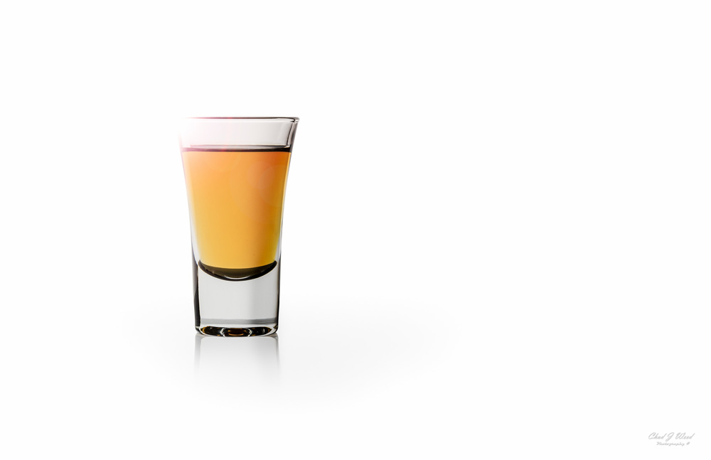Whiskey Shot Glass by Arizona Commercial Beverage Photographer Chad J Weed