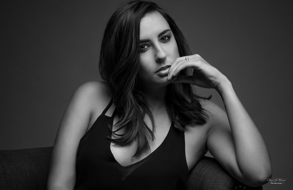 Close Up Headshot Portrait of Dayna
