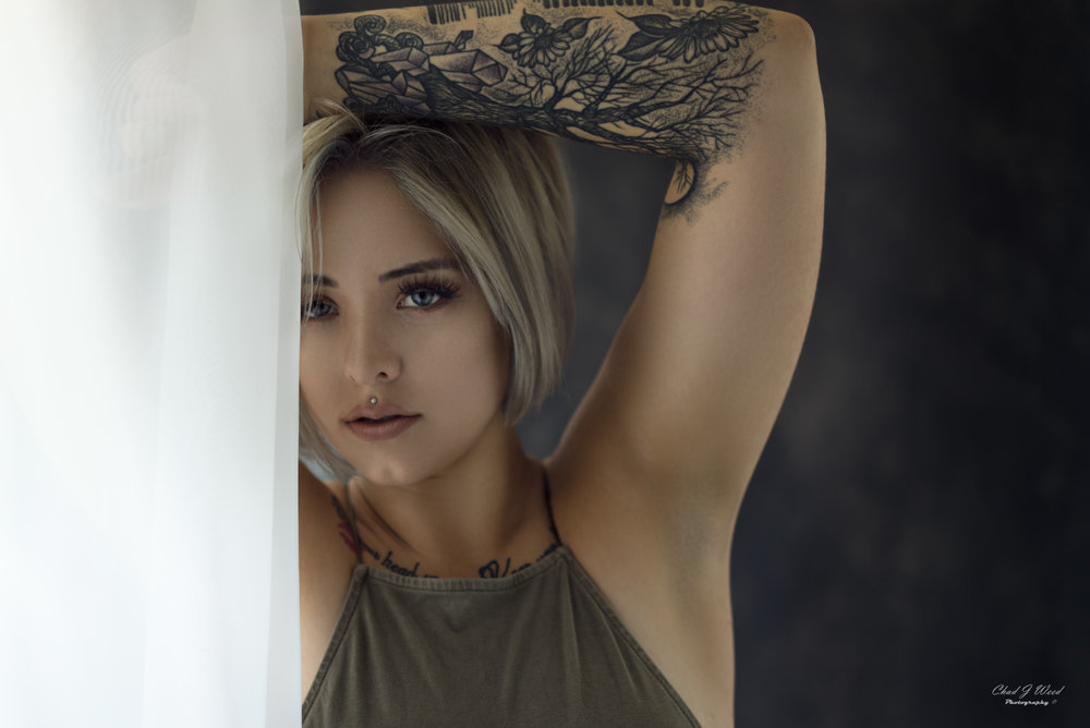 Beauty with an Edge by Arizona Portrait Photographer Chad Weed