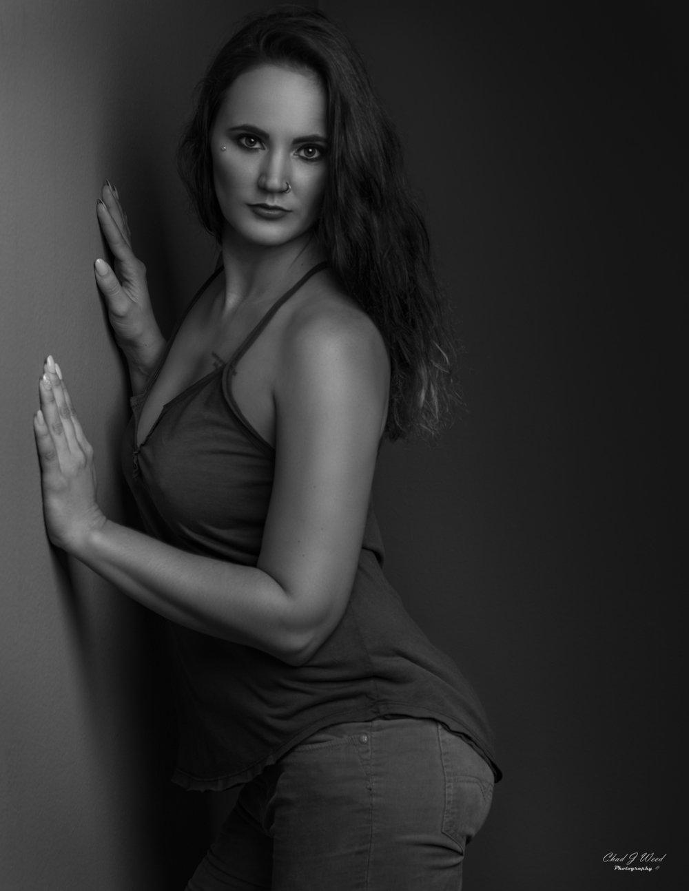 Erica Fashion Portrait by Mesa Arizona Portrait Photographer Chad Weed