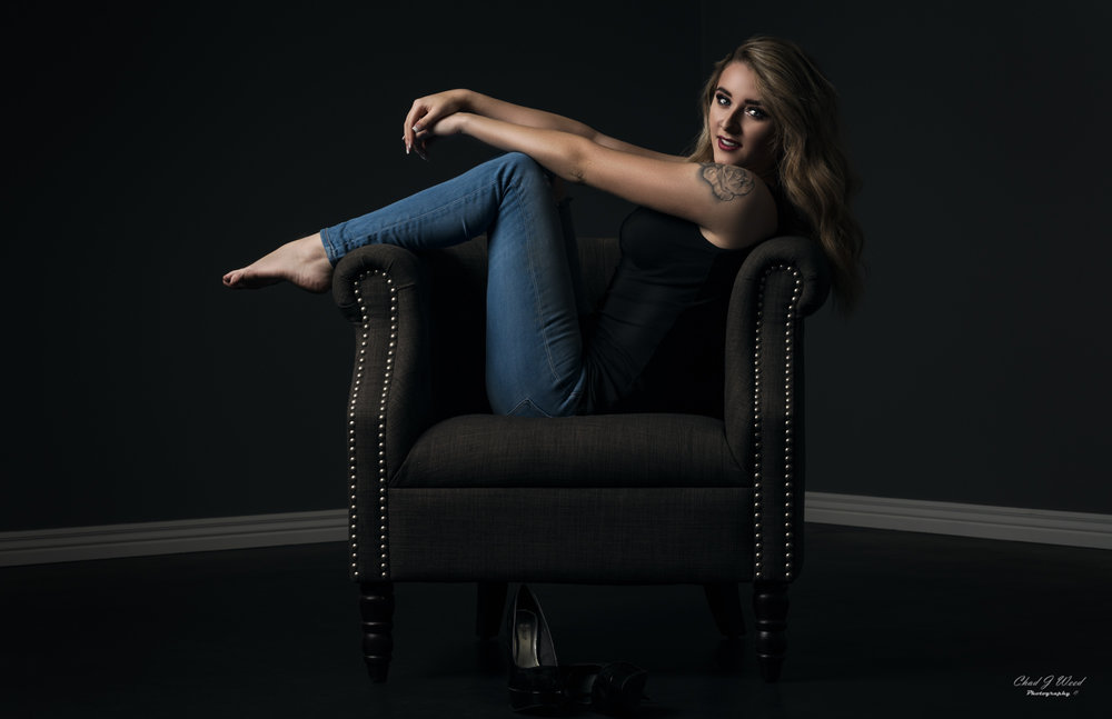 Amber Casual Fashion Portrait by Mesa Arizona Portrait Photographer Chad Weed
