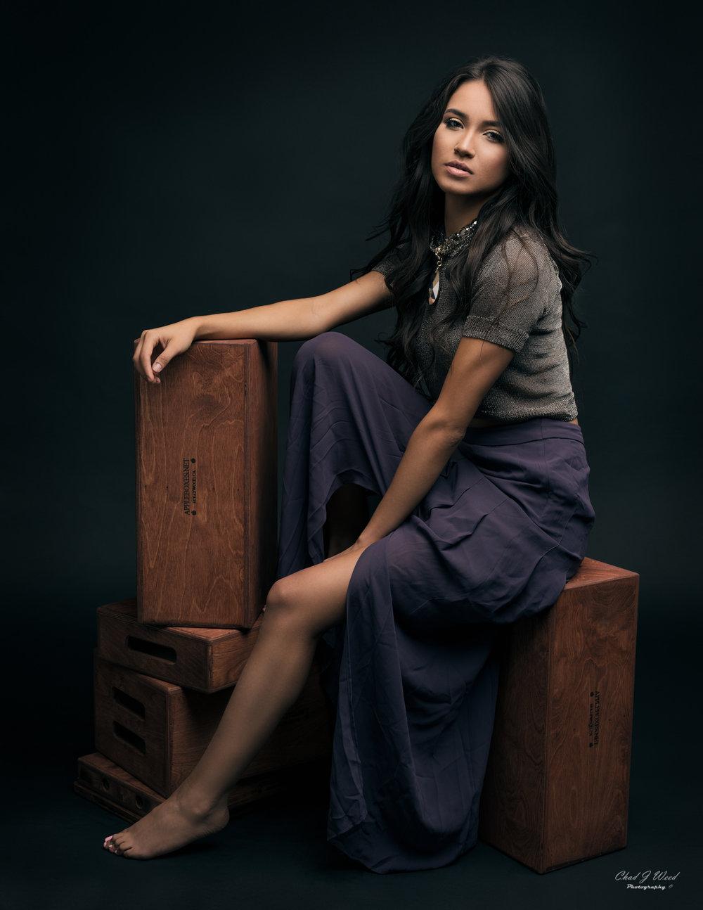 Zari Glamour by Mesa Arizona Portrait Photographer Chad Weed