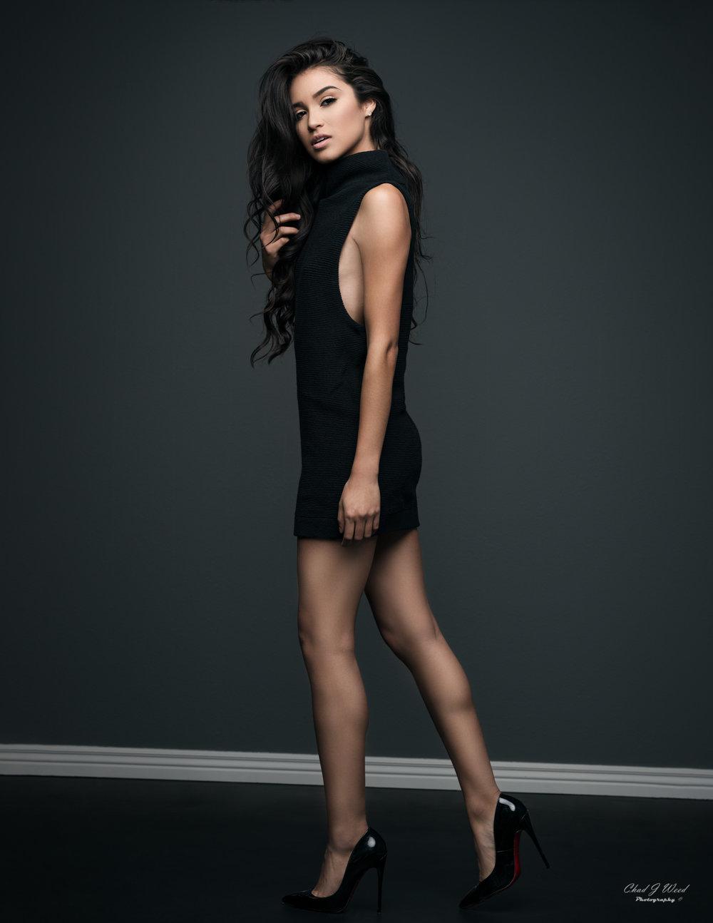 Zari Fashion Glamour Model by Mesa Arizona Portrait Photographer Chad Weed