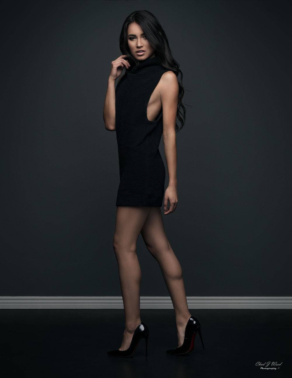 Zari Fashion Leg Model by Mesa Arizona Portrait Photographer Chad Weed
