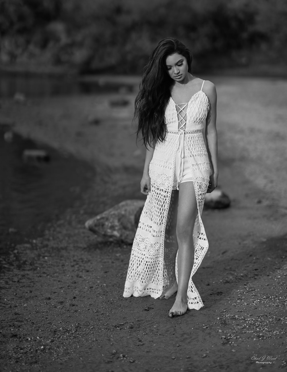 Zari Editorial Shoot at Saguaro Lake by Arizona Portrait Photographer Chad Weed