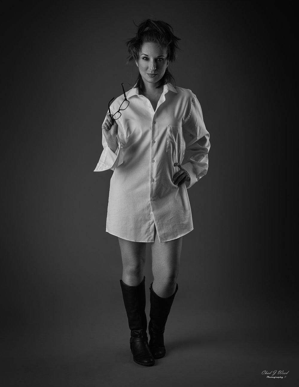 Kika NY Actress by Arizona Fashion Portrait Photographer Chad Weed