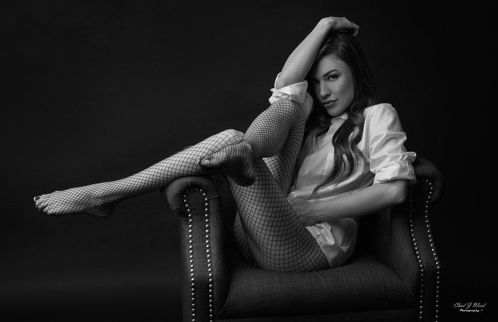 Kaylee Fashion Model by Arizona Fashion Portrait Photographer Chad Weed