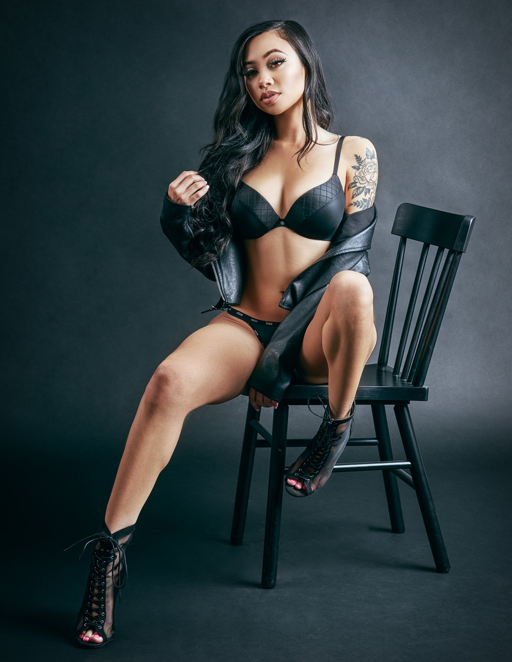 Alexxa Fashion Model by Mesa Arizona Fashion Photographer Chad Weed