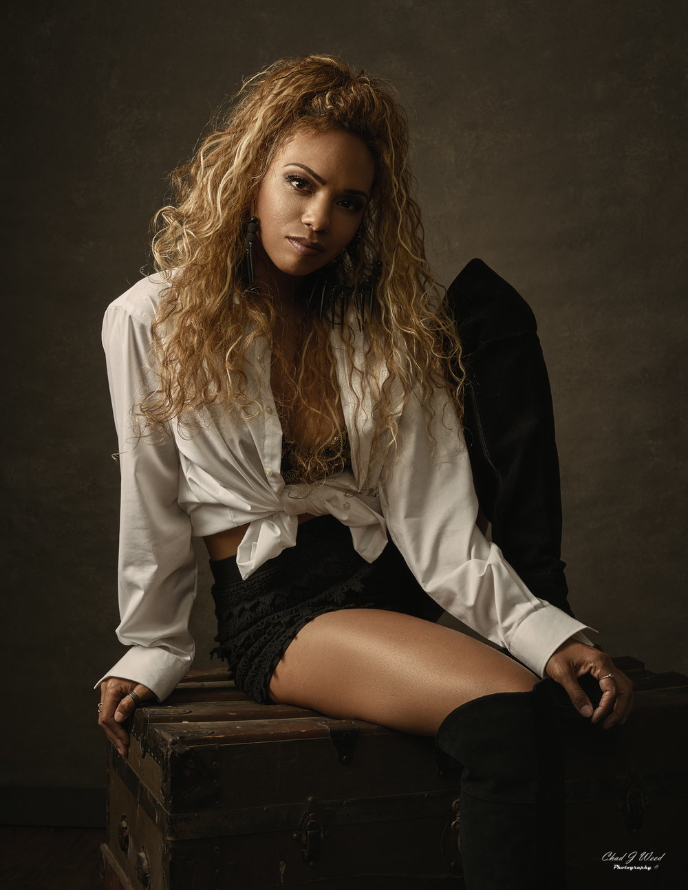 Fashion Model Keeira by Arizona Fashion Photographer Chad Weed