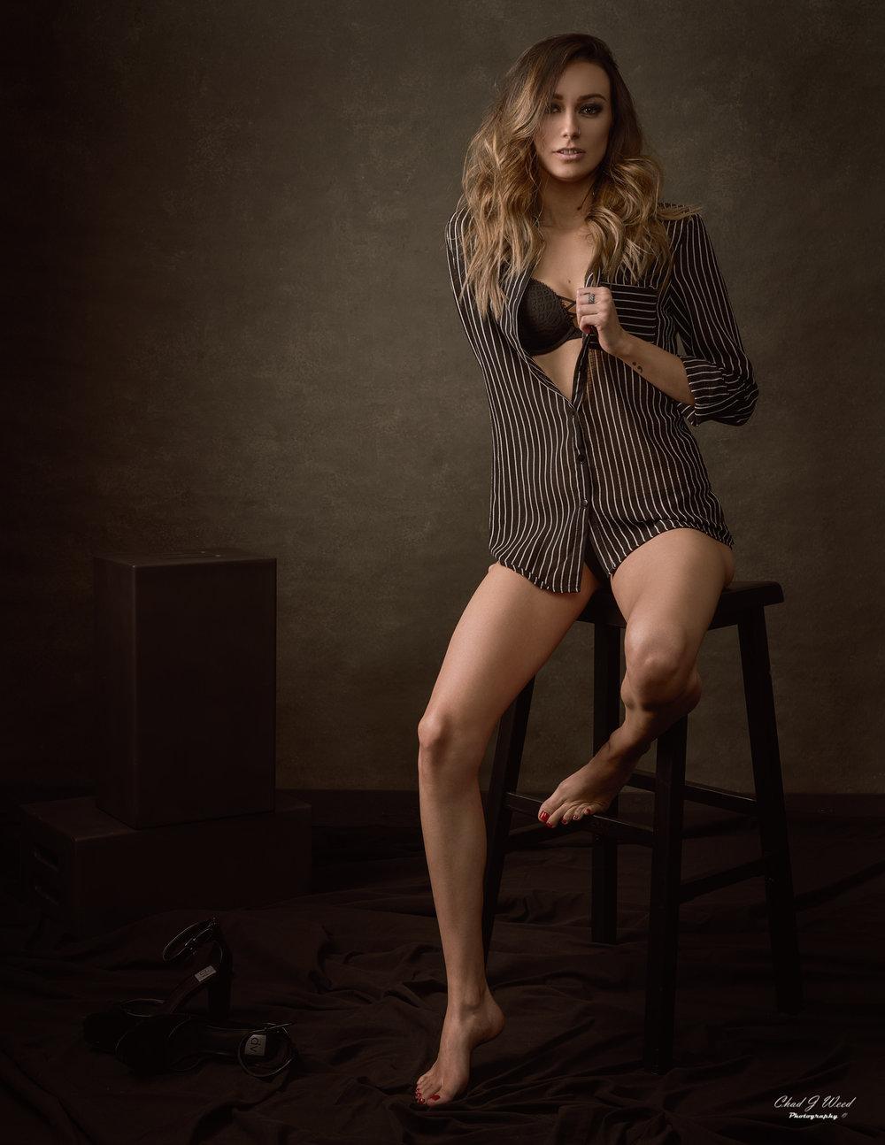 Mesa Arizona Fashion Portrait Photographer Chad Weed with Model Dani