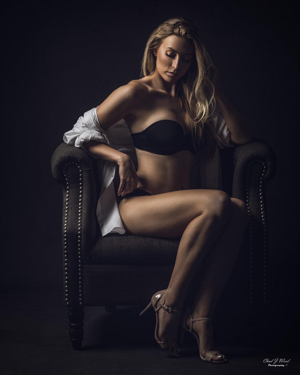 Arizona Fashion Portrait Photographer Chad Weed - Fashion Model Julika