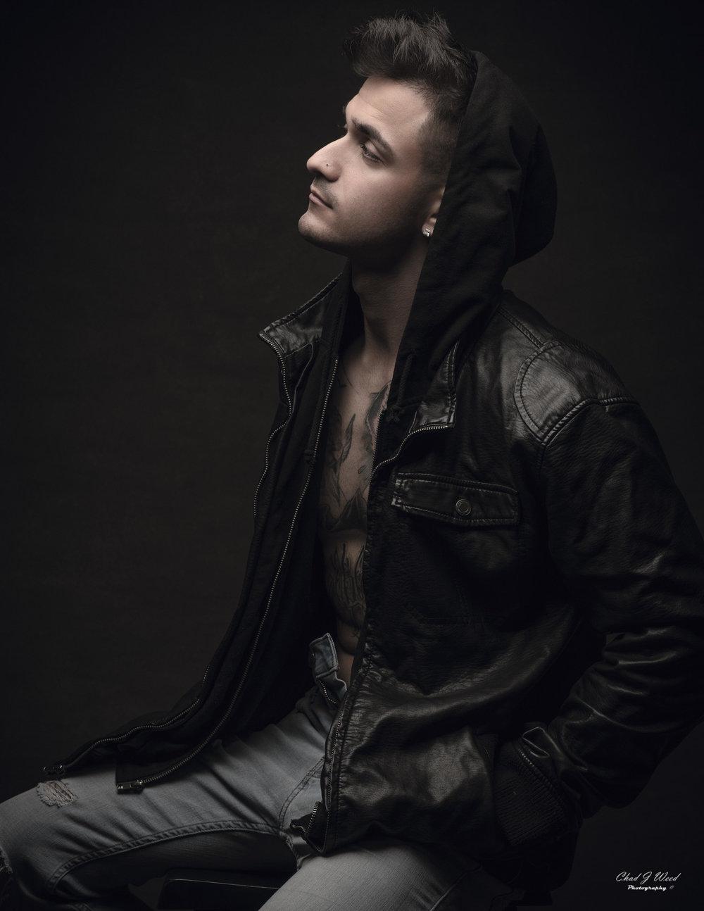 Mesa Arizona Portrait Photographer Chad Weed with Fashion Model Isaac 1
