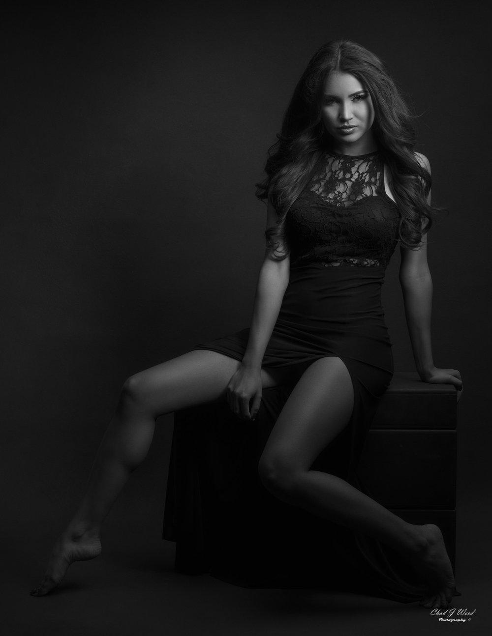 Chad Weed Mesa Arizona Glamour Photographer with Beauty Model Zari