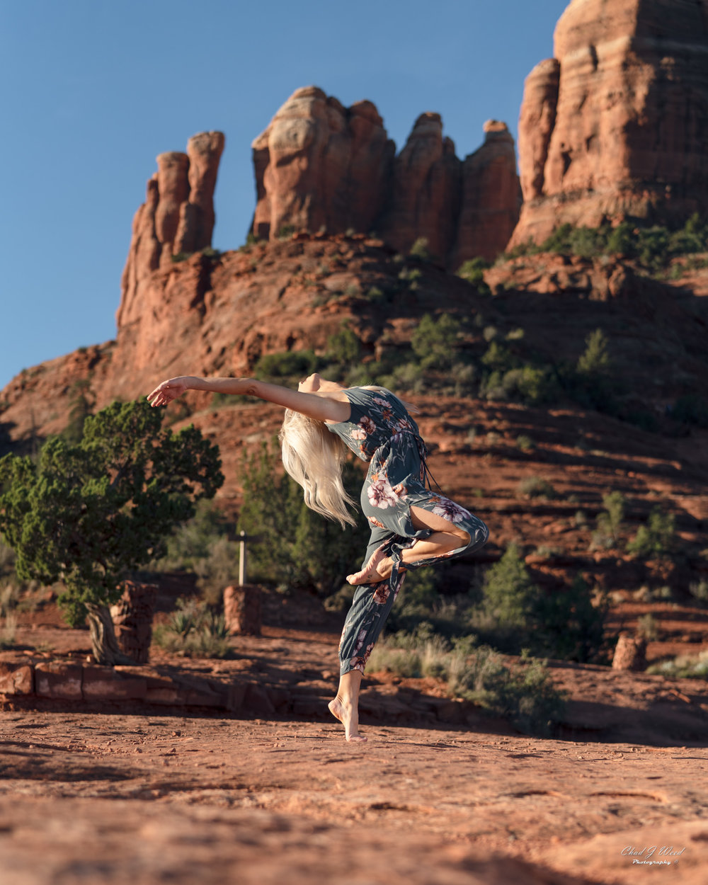 Arizona Fashion Photographer Chad Weed With Dancer Ashyln In Sedona